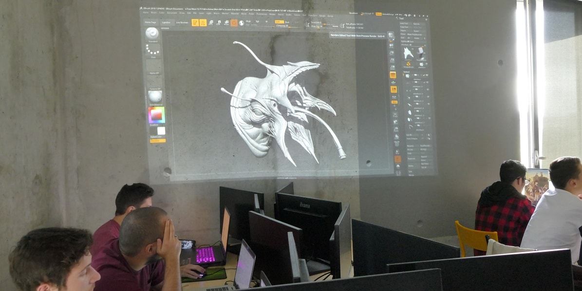 ecole animation 3D nanterre