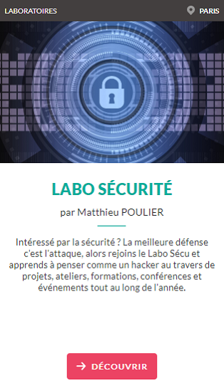 labo securite